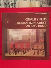 RECORD VINYL QUALITY PLUS HAMMONDS SAUCE WORKS BAND