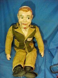 1940s JERRY MAHONEY Paul Winchells Composition VENTRILOQUIST Doll PUPPET