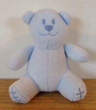 Emile Et Rose Baby Comforter Bear Toy Soft Doudou Blue Boys Designer Christening