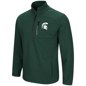 Michigan State Spartans Colosseum Townie 1/2 Zip Pullover Jacket