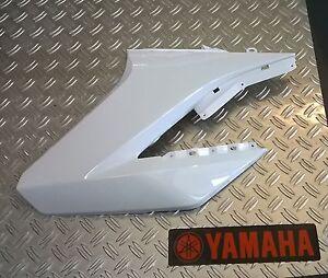 """Yamaha WR125X / WR125R  """"Verkleidung / Tankverkleidung links weiss"""" Original"""