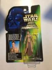 LEIA (SLAVE) star wars POWER OF THE FORCE GREEN CARD