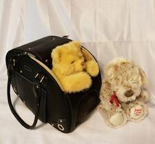 Dog Carrier, Pet Carrier, PetsHome Waterproof Premium Leather Pet Travel Bag for