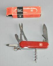 Vintage Wenger Swiss Army Knife original vintage Box Ovp Nos Taschenmesser # F2