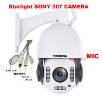 SONY starlight 307 Wireless 1080P 20x zoom PTZ speed dome ip camera SD slot p2p