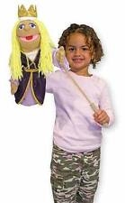 """PRINCESS ~ 17"""" Tall  HAND PUPPET # 3892 ~ Very Detailed ~ Melissa & and Doug"""