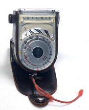SEKONIC L-8 Exposure Meter Photo Photography Vintage Lightmeter +Case