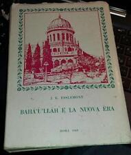 baha'u'llah e la nuova era-j.e. esslemont-roma 1969