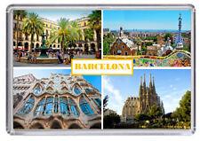 Barcelona Fridge Magnet 02