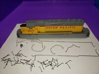 CASING RAILINGS PARTS ONLY HO SCALE ATHEARN SD40-2 LOCOMOTIVE UNION PACIFIC 3637