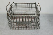 Old Hardy spicer Parts basket for industrial look home decor