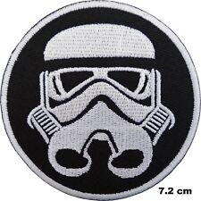 Star Wars Stormtrooper Logo Brodé Fer Patch à Coudre Veste Badge