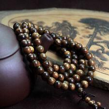 Charming Black Rosewood108 8MM Buddhist Prayer Bead Mala Necklace/Bracelet