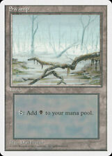 Magic MTG Tradingcard Fourth Edition 1995 Swamp