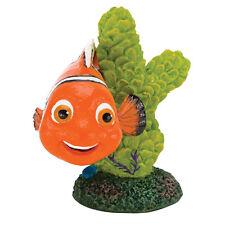 Finding Nemo Mini Aquarium Ornament - Nemo on Coral - 2 in. - NMR44 - Penn Plax