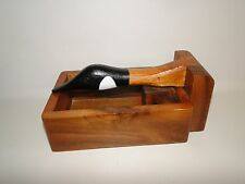 "Canadian Goose Nutcracker Box Solid Wood, 10"" X 6"", Made in the Philippines"