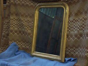 Specchiera francese Luigi Filippo metà '800 foglia oro zecchino