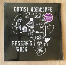 Dadisi Komolafe - Hassan's Walk - Modal Jazz - Free Jazz - 180g vinyl LP Reissue