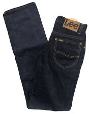 Lee Dark Blue Corduroy Pants/Jeans W26 L33 Vintage
