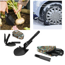 Foldable Military Shovel Self Driving Multi-function Camp Survival Tools
