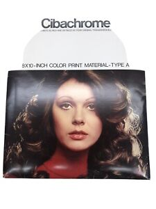 Cibachrome color print paper darkroom expired 8x10 material type A 20 sheets