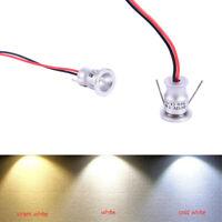 Led Spotlight Cabinet Mini Recessed Down Light Cupboard Showcase Display Light