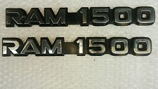 dodge ram 1500 trunk door emblem logo plaque badge sign symbol name plate decal