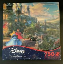 NEW  Thomas Kinkade Disney Sleeping Beauty & Castle 750 Piece Puzzle Ceaco
