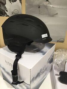 Smith Variance MIPS Snow Ski Helmet Large Matte Black preowned