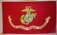 United States Marine Corps Flag 3' x 5' Indoor Outdoor Offically Licensed Banner