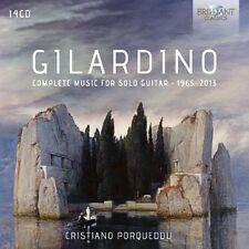 CRISTIANO PORQUEDDU - COMPLETE MUSIC FOR SOLO GUITAR 1965-2013 14 CD NEW+