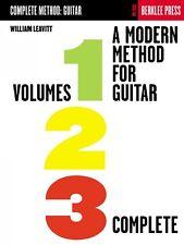 A Modern Method for Guitar Volumes 1 2 3 Complete - Berklee Methods NE 050449468