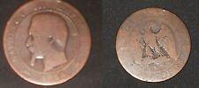 Francia, Napoleone III (1852-1870): 5 centesimi 1854-A - RAME - MB-      N.25