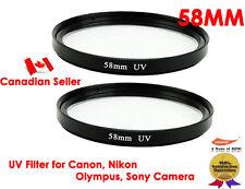 YellowKnife -2X Ultra 58mm UV Filter Lens for Canon,Nikon,Sony,Olympus,Panasonic