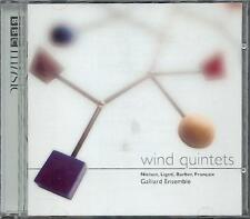 NIELSEN LIGETI BARBER FRANCAIX - WIND QUINTETS: GALLIARD ENSEMBLE - BBC CD 2004