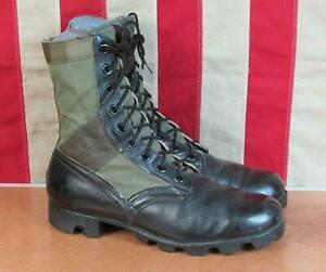 Vintage 1960s US Army Addison Tropical Combat Boots RO Search Military 9 Vietnam