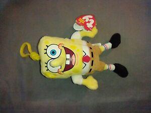 TY Beanie Babies SpongeBob SquarePants Clip