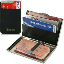afc8bb6d17 Portafoglio e Porta carte di credito schermato rfid nfc uomo, Portacarte