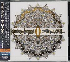 KOBRA AND THE LOTUS-PREVAIL I-JAPAN CD BONUS TRACK F56