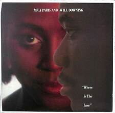 """Mica Paris & Will Downing - Where Is The Love - 7"""" Record Single"""