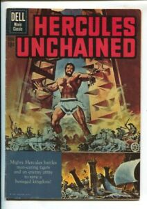 Hercules Unchained-Four Color Comics #1121-1960-Dell-Steve Reeves-Reed Cranda...