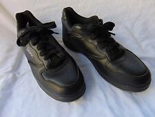 ETONIC Perfect Slide Mens Bowling Shoes Sz USA 9.5 / EUR 42.5 Black Lace-Up Bowl