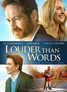 DVD - Drama - Louder Than Words - David Duchovny - Hope Davis - Timothy Hutton