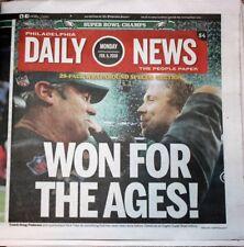 Philadelphia Daily News 2/5/18 Eagles Super Bowl LII Champions Newspaper (MINT)