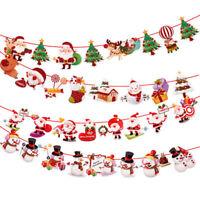 3D Christmas Balls Baubles Santa Claus Xmas Tree Hanging Ornament Xmas Decor