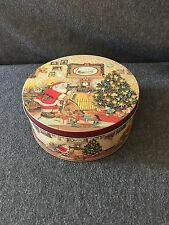 "Christmas Tin Decorative - Small 6.5"" x 3.25"""