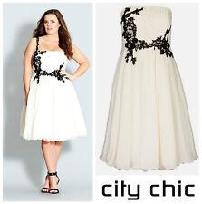 CITY CHIC * PROM DIVA * LACE APPLIQUE  DRESS  Sz L  20W   NWT  NORDSTROM   $169