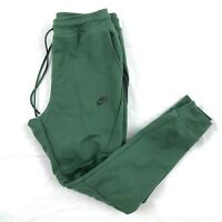 Nike Tech Fleece Jogger Pants Sweatpants Green Black 805162-370 Mens Small S