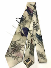 Paul Smith Tie Fishing Angling design Show Cravate lame 7 cm made in italyvery RARE