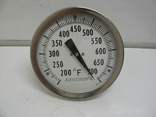 New Ashcroft 5 Inch Bimetal Thermometer 200-700 Degree F 3 Inch Steem
